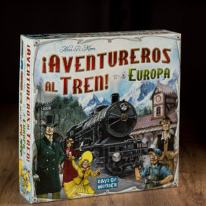 comprar ¡Aventureros al tren! Europa