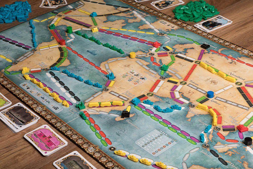 Aventureros al tren la vuelta al mundo c mpralo aqu - Juego de rol de mesa ...