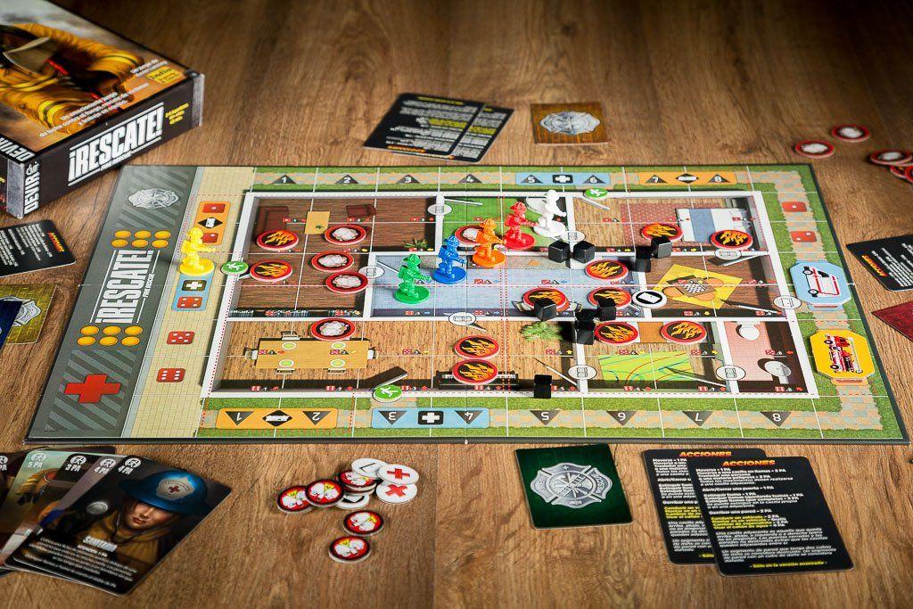 Rescate juego de mesa cooperativo apagando fuegos - Fallout juego de mesa ...