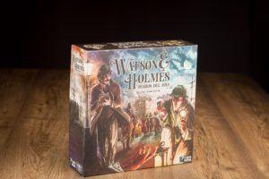 Watson y Holmes: Diarios de Baker Street 221B, diseñar juegos de mesa