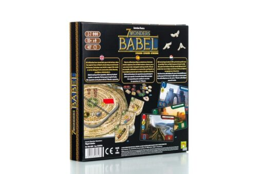 Caja trasera de 7 Wonders Babel