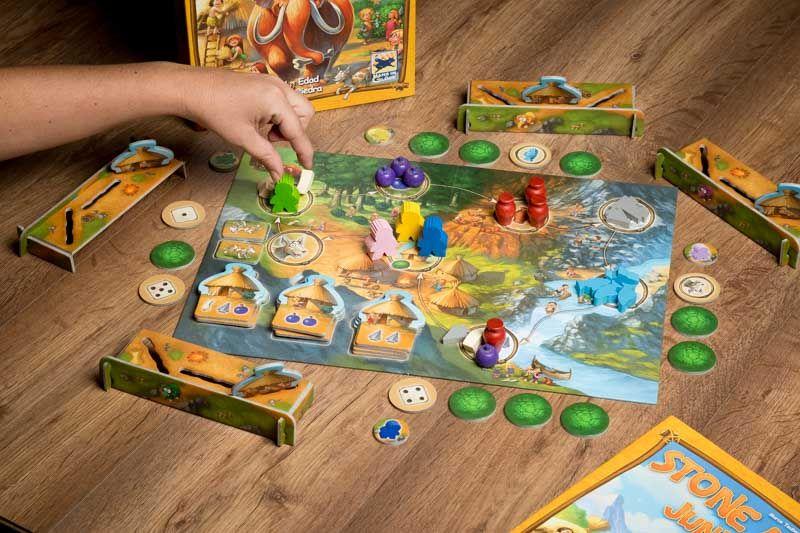 Stone age junior el juego infantil sobre la edad de piedra for Boom junior juego de mesa