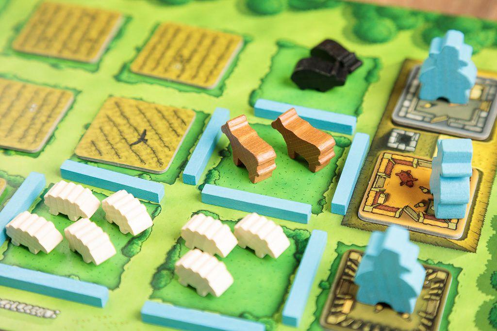 Agricola es uno de los juegos de mesa de granjeros