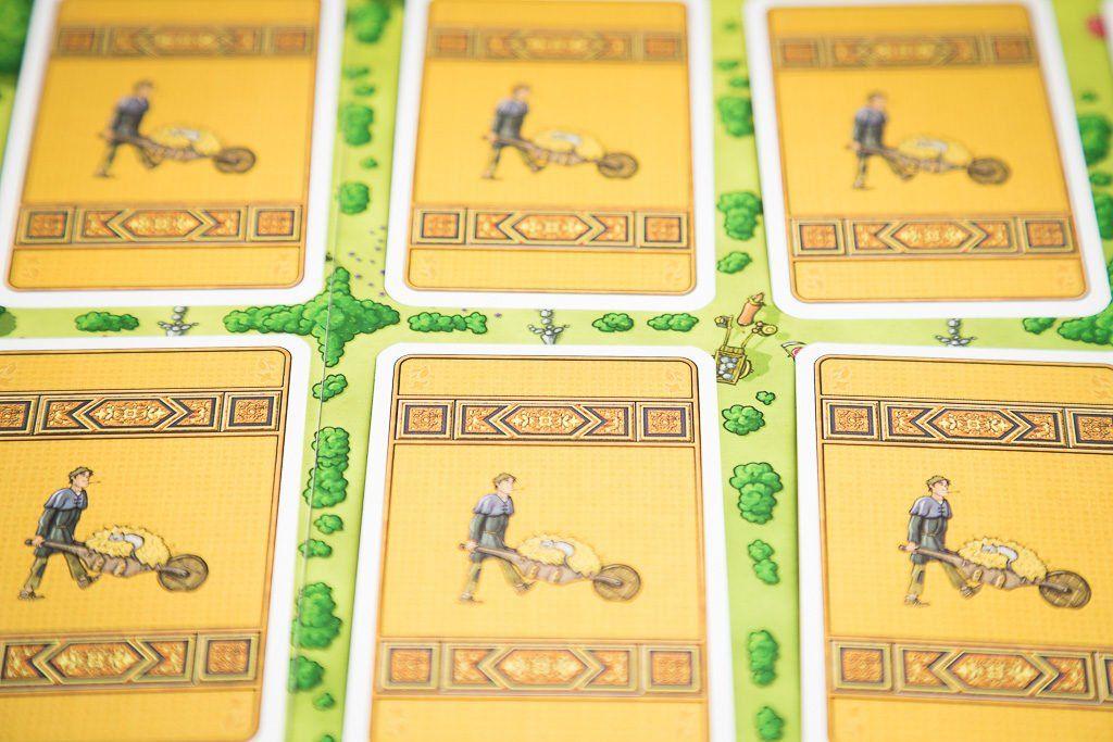 Selección de juegos de mesa de granjeros