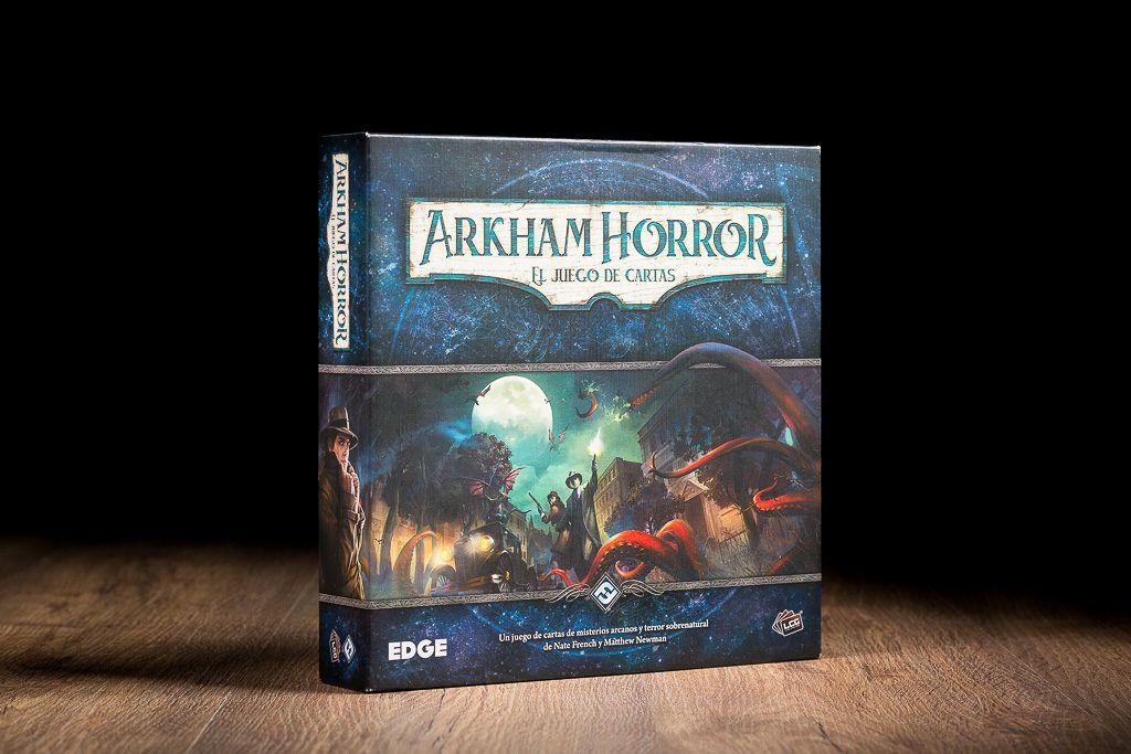 Arkham HHorror es uno de los juegos de mesa LCG