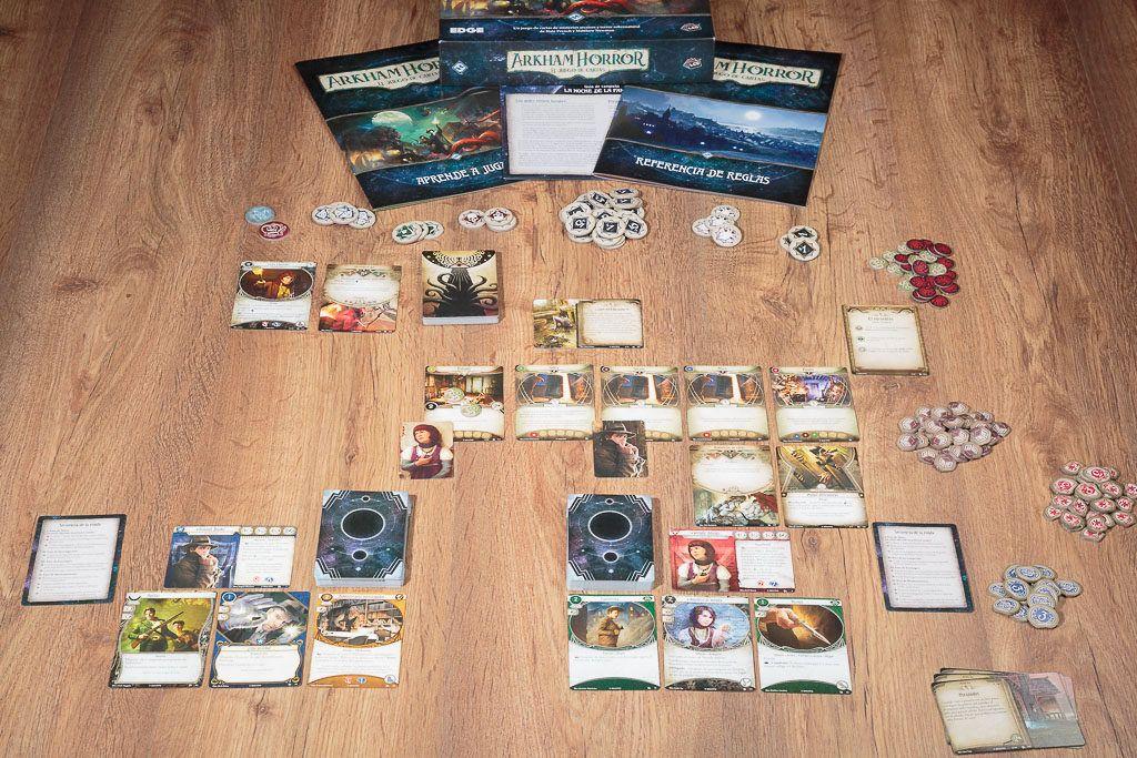 Arkham Horror es uno de los juegos de mesa para expertos