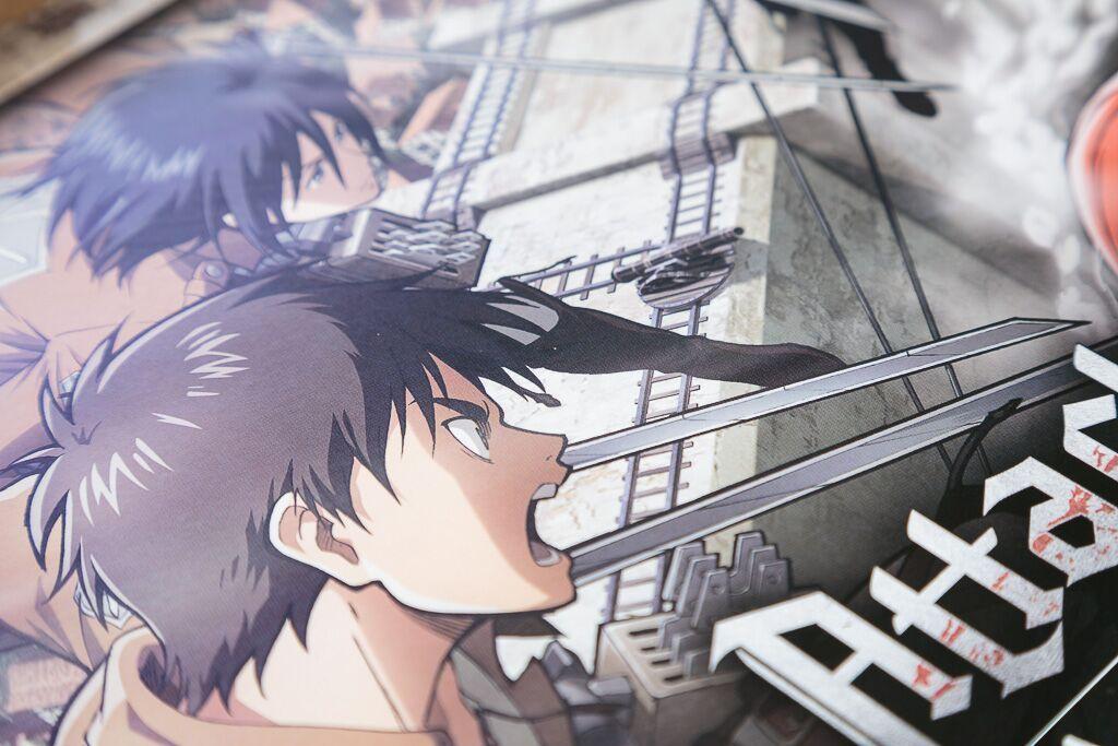 Attack on titan, juegos de mesa y anime