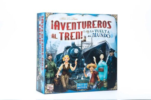 Aventureros al Tren la vuelta al mundo