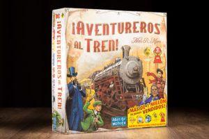 ¡Aventureros al tren entre los diez mejores juegos de mesa
