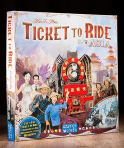 Comprar Aventureros al tren Asia