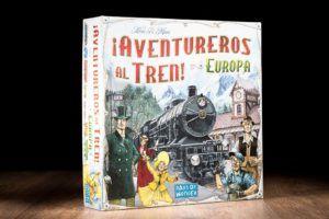 Aventureros al tren Europa, una de nuestras ofertas en juegos de mesa de trenes
