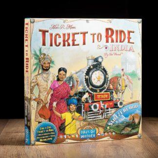 comprar Aventureros al tren India