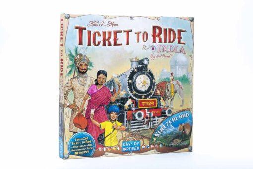 Aventureros al tren India y Suiza