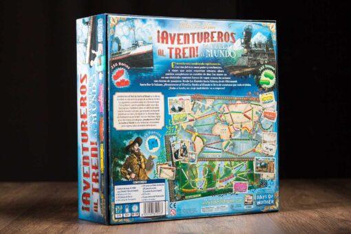 Comprar Aventureros al tren La vuelta al mundo juego de mesa