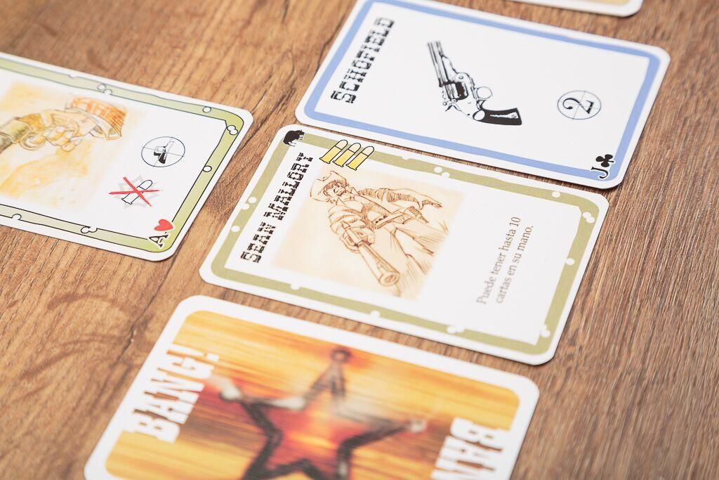 Bang la bala , juegos de mesa de cartas