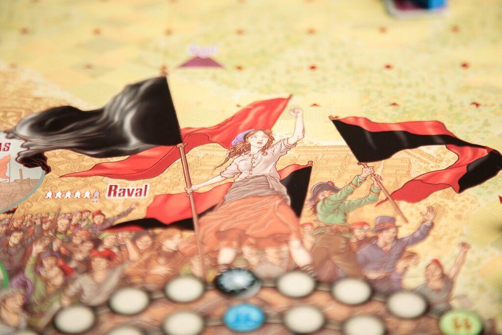 Barcelona la rosa de fuego, juegos de mesa históricos