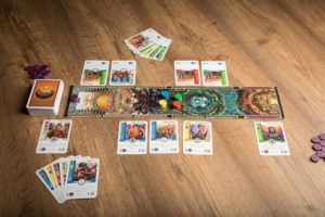 Juego de mesa Batalla por el Olimpo