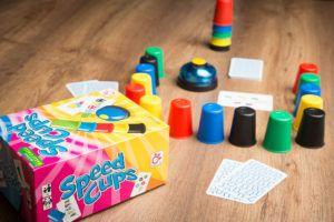 Reseña del juego de mesa Speed Cups