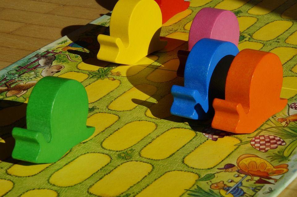 Caracoles, juegos de mesa de carreras
