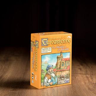 Carcassonne La abadia y el alcalde