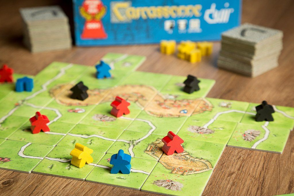 Carcassonne, juegos de mesa para mejorar la socialización
