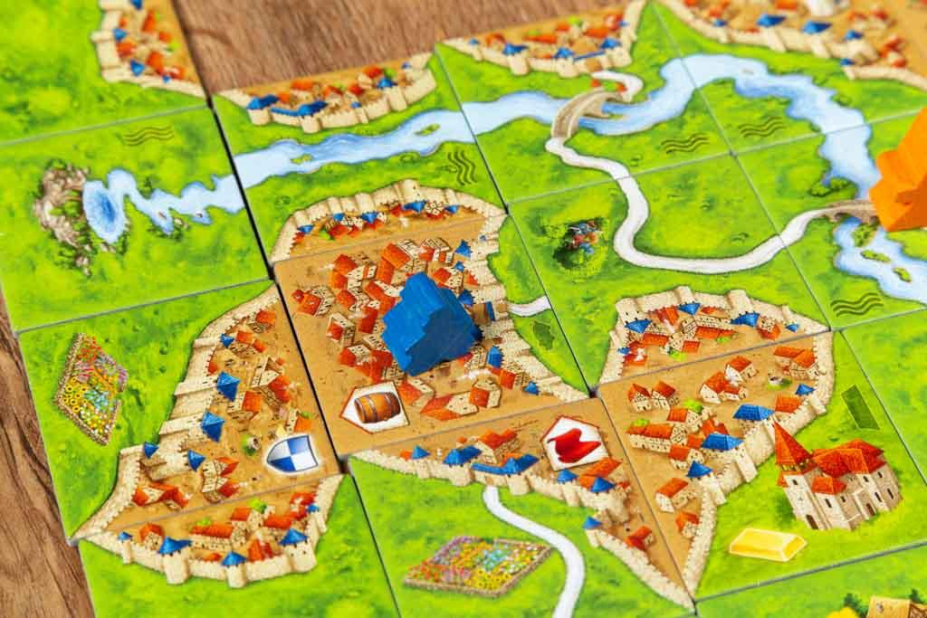 Cómo jugar a Carcassonne