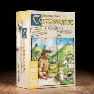 Comprar Carcassonne colinas y obejas juego de mesa