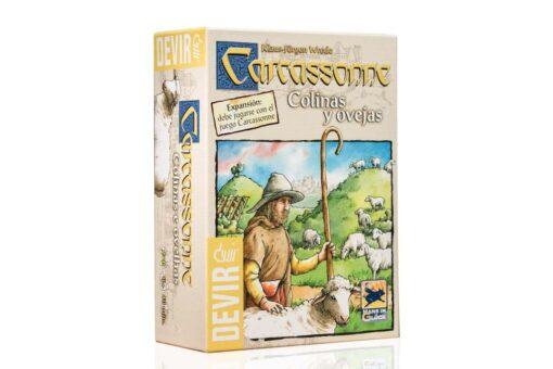 Comprar Carcassonne colinas y ovejas juego de mesa