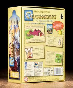 Comprar Carcassonne La princesa y el dragón