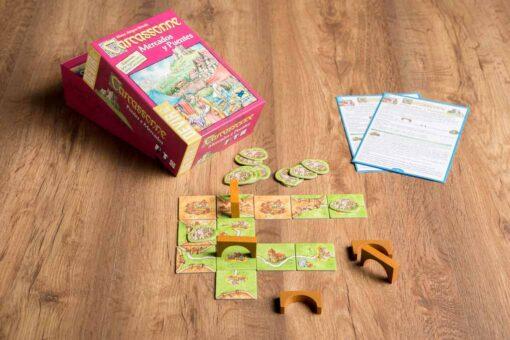 Comprar Carcassonne expansión Mercados y puentes juego de mesa