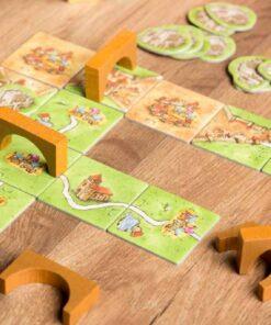 Comprar Carcassonne mercados y puentes juego de mesa