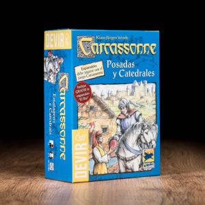 Comprar Carcassonne posadas y catedrales juego de mesa