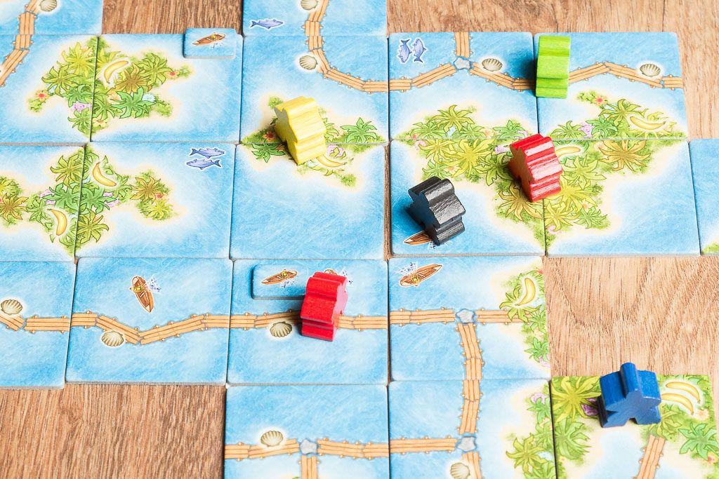 Carcassonne mares del sur es uno de los juegos de mesa refrescantess