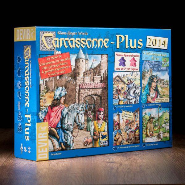 Comprar Carcassonne plus juego de mesa