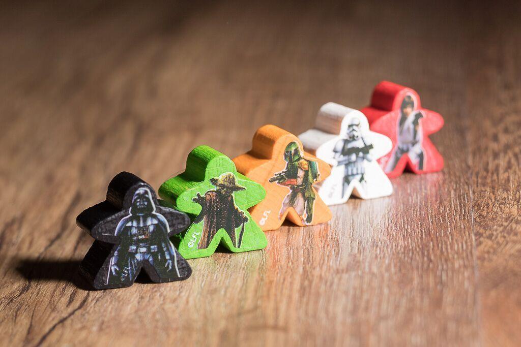 Carcassonne star wars, uno de nuestros juegos de mesa para los amantes del cine