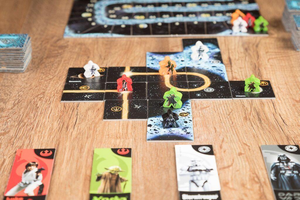 Carcassonne star wars, otro de nuestros juegos de mesa para los amantes del cine