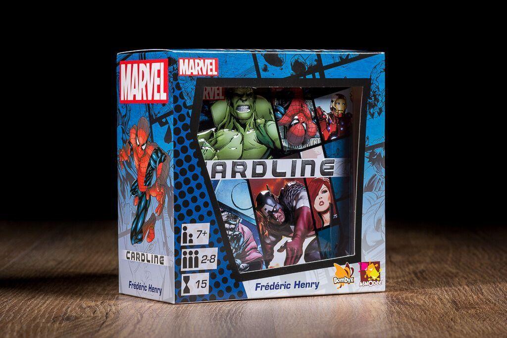Cardline, uno de nuestros juegos de mesa basados en cómics