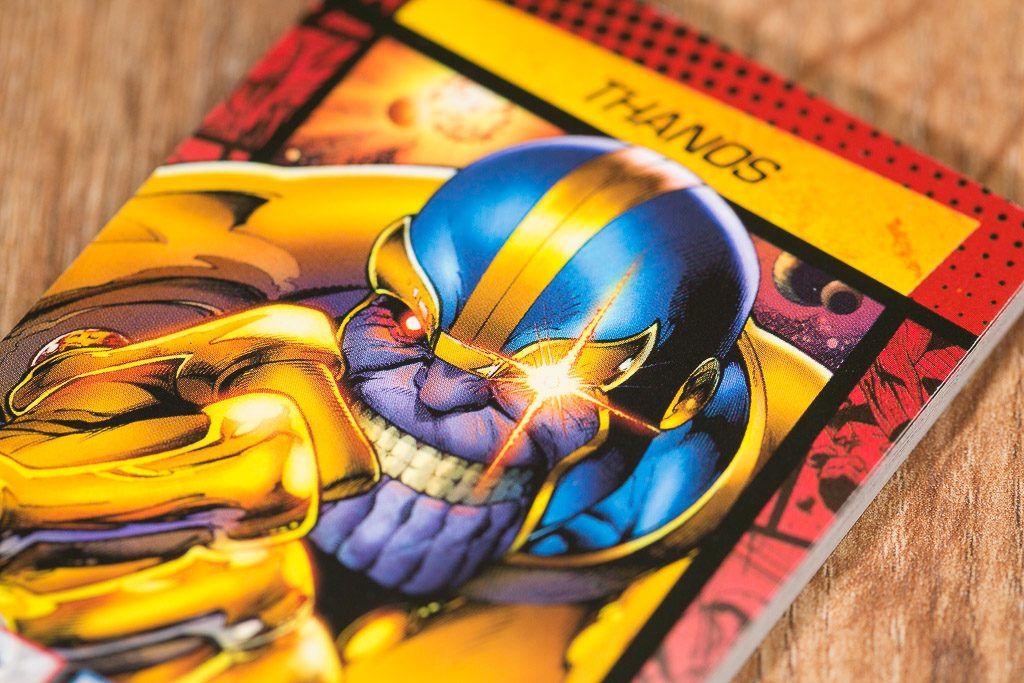 Cardline Marvel es uno de los juegos de mesa sacados de cómics