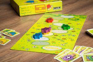 Carrera de tortugas, educar jugando, fiestas familiares
