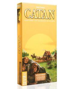 Comprar Catan ampliación mercaderes y bárbaros 5-6 jugadores