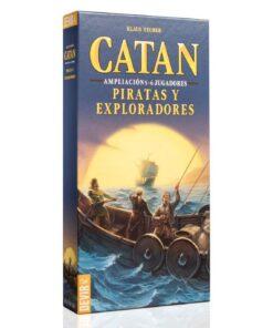 Comprar Catan ampliacion piratas y exploradores 5-6 jugadores