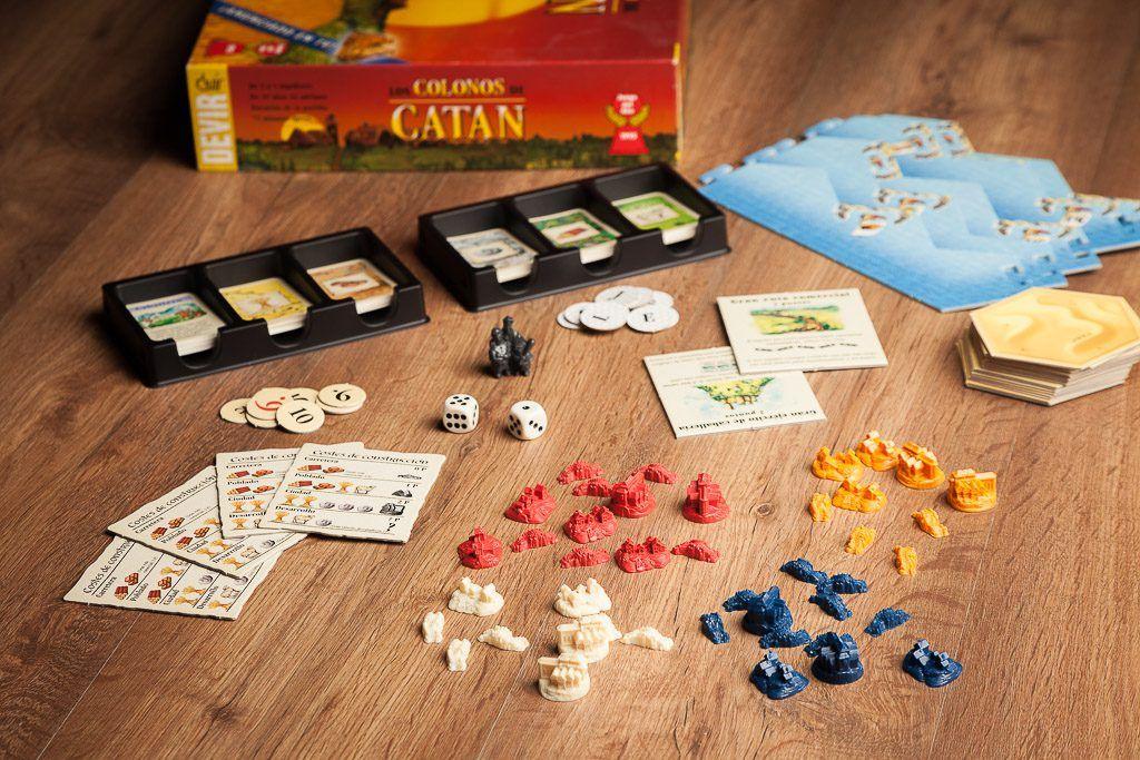 Catan, cómo seleccionamos nuestro catalogo juegos de mesa