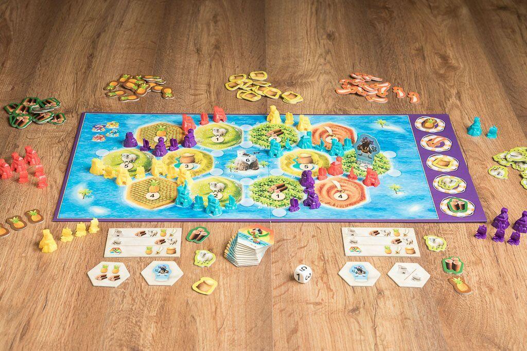 Catan junior, uno de los juegos dque fomenta el aprendizaje a través de los juegos de mesa