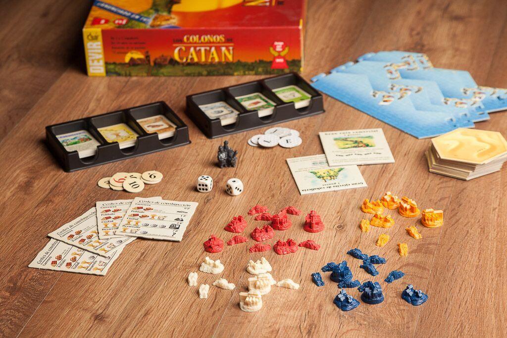 Catan original, duración de los juegos de mesa