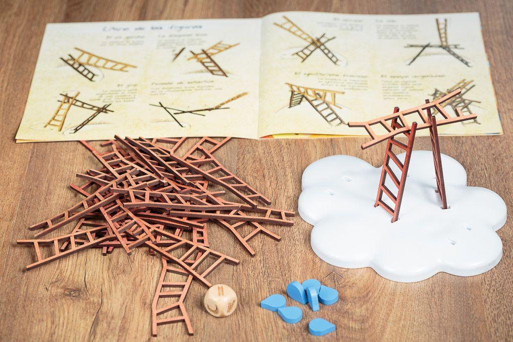 Catch the moon es uno de los juegos de mesa de construcción