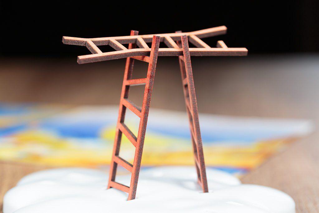 selección de juegos de mesa de escaleras