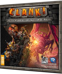 Juego de mesa deck building Clank!