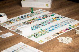 Concept, juegos de mesa para cenas de empresa de verano