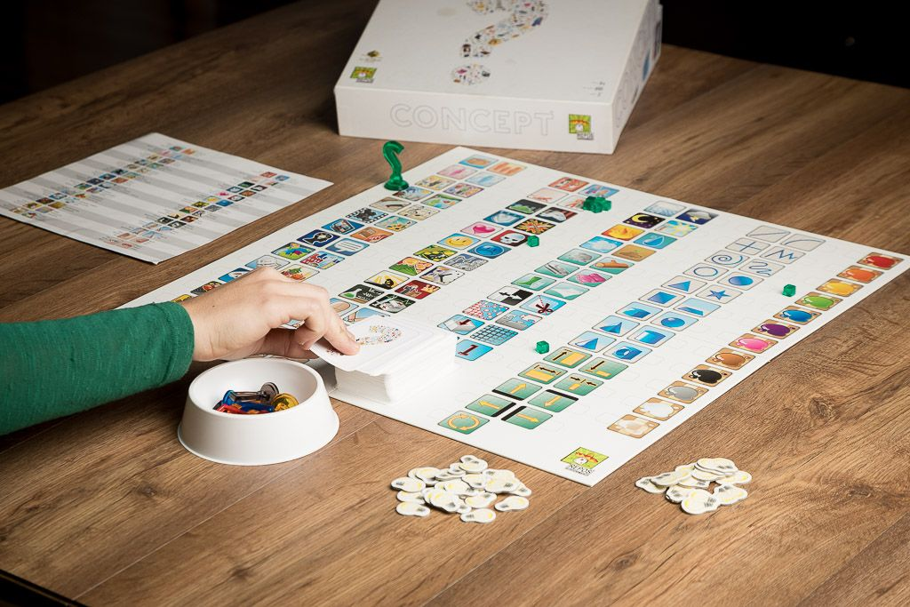 Concept, juegos de mesa para mejorara la imaginación