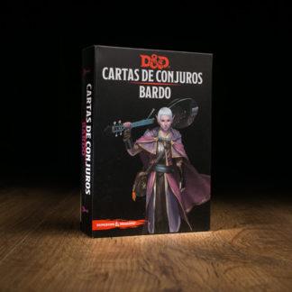 D&D Cartas de conjuros: Bardo